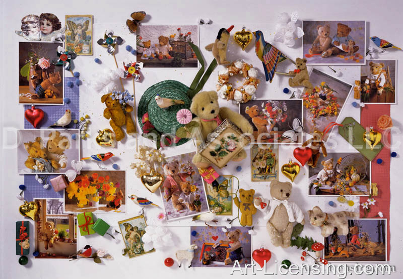 Ulrike Schneiders-Bear cards collage-UC-182-A-2