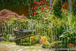 004Art-Spring Flower Garden-by AYAKO