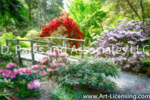 2692Art-Rhododendron Garden-by Ayako