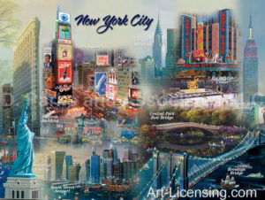 New York-Collage