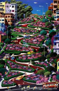 San Francisco-Lombard Street