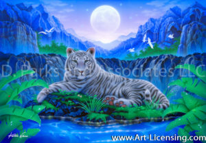White Tiger-The King of Forest II