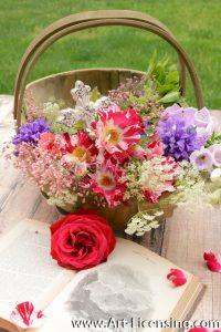 7977-Roses-Campannula-Foxglove-Coral-Bells-Queen-Anns-Lace-Bouquet
