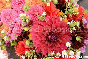 9596-Dahlia Bouquet